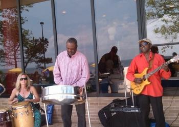 Outdoor Steel & Bongo Drums Concert